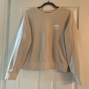 Roots button snap side sweatshirt